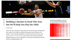FiveThirtyEight   Building a Bracket Is Hard This Year  But We'll Help You Play the Odds
