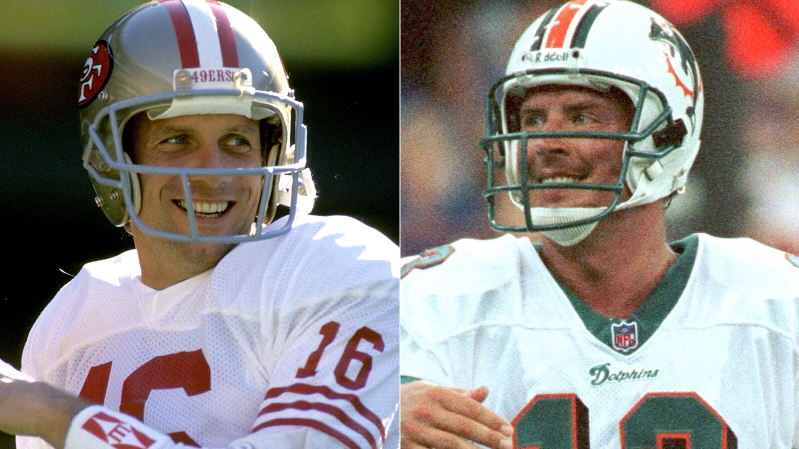 Dan Marino Wallpaper Joe Montana vs Dan Marino