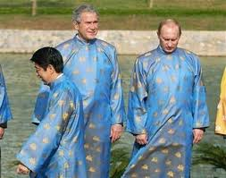putin wears onsies with gw